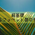 【超基礎 中学英語】知らないとやばいアルファベットの本当の発音